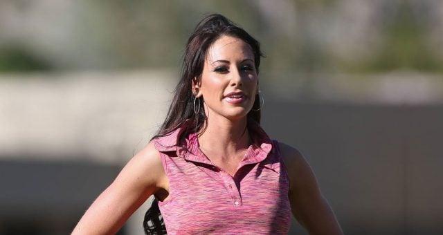 Holly Sonders at La Quinta Country Club Course
