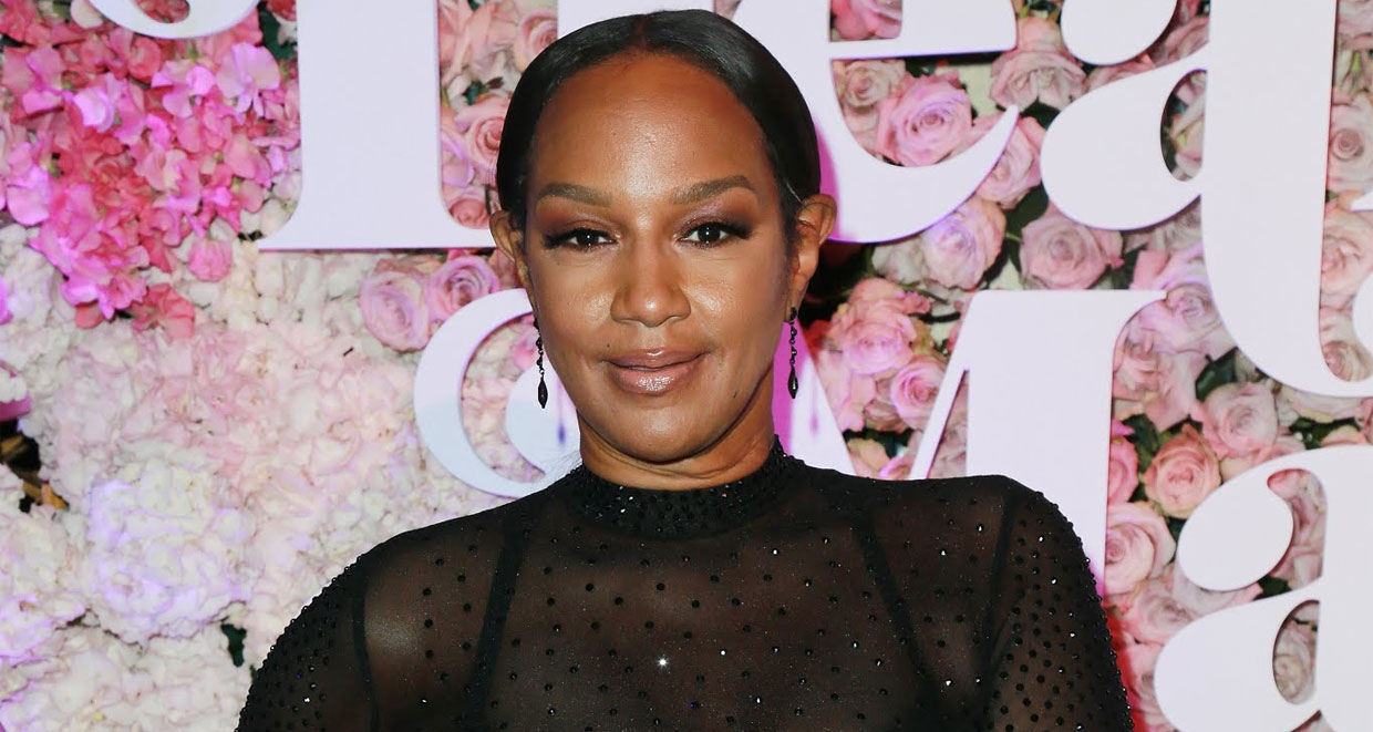 Jackie Christie Rocking a Black Sheer Outfit