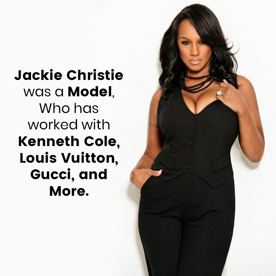 Jackie Christie was a Model