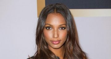 Jasmine Tookes at the launch of Victoria's Secret Scandalous Fragrance And Bra Collection