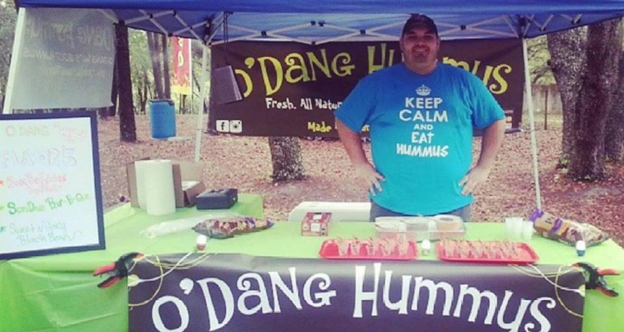 Jesse Wolfe founder of O'Dang Hummus