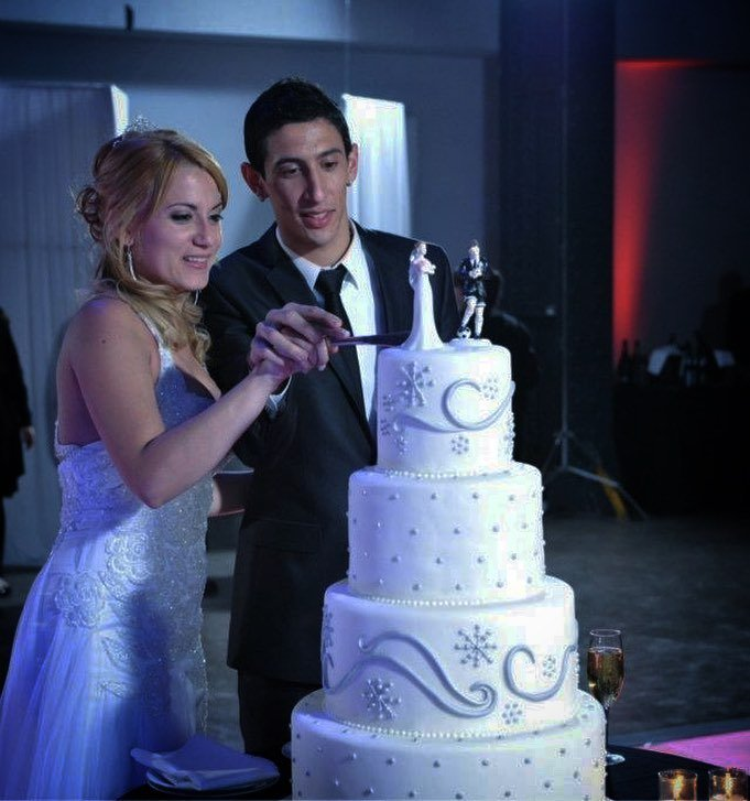 Jorgelina Cardoso and Angel Di Maria Got Married on July 30, 2011