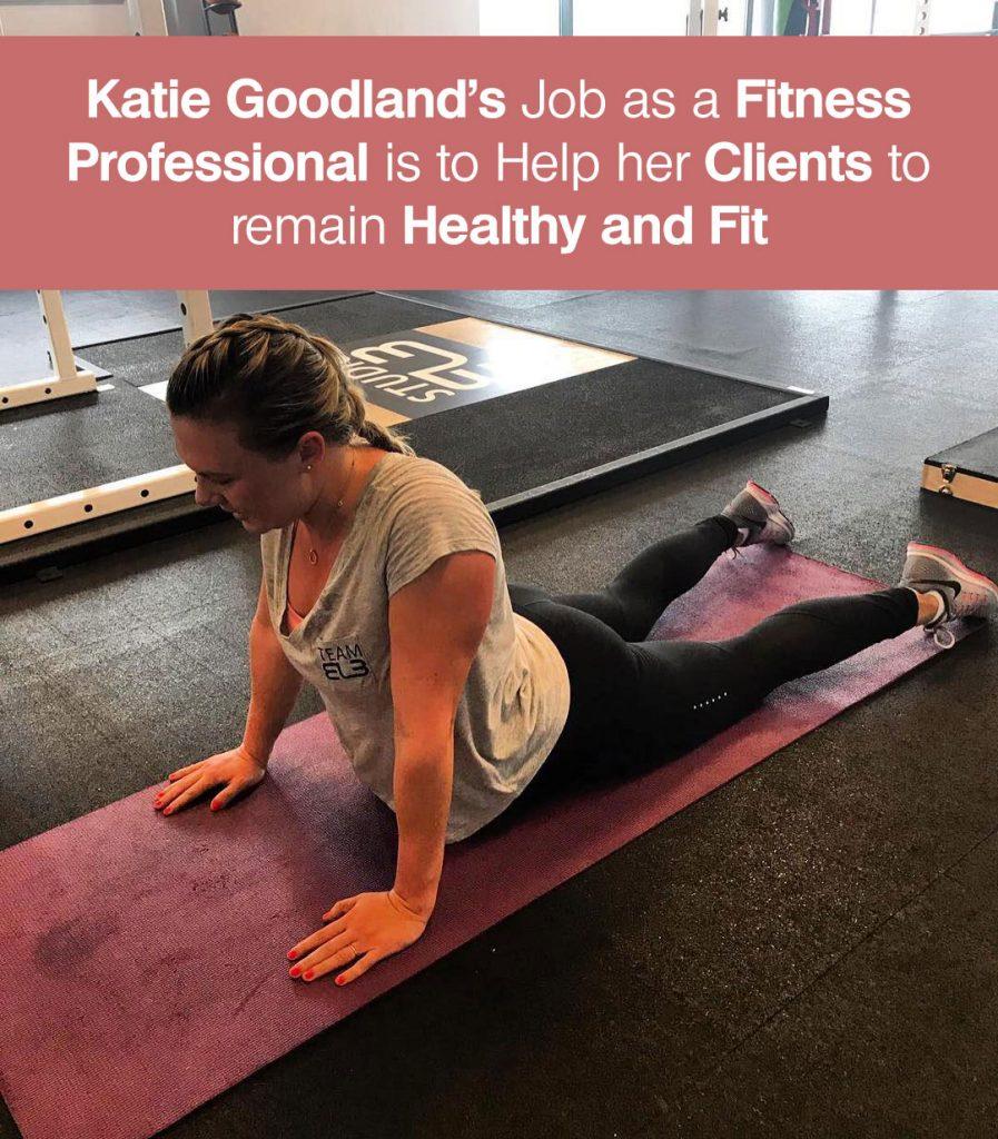 Katie Goodland Job