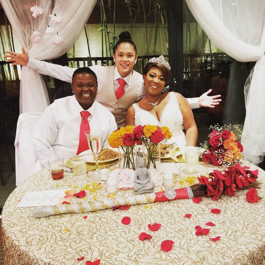 Kaycee Clark's Friends Wedding