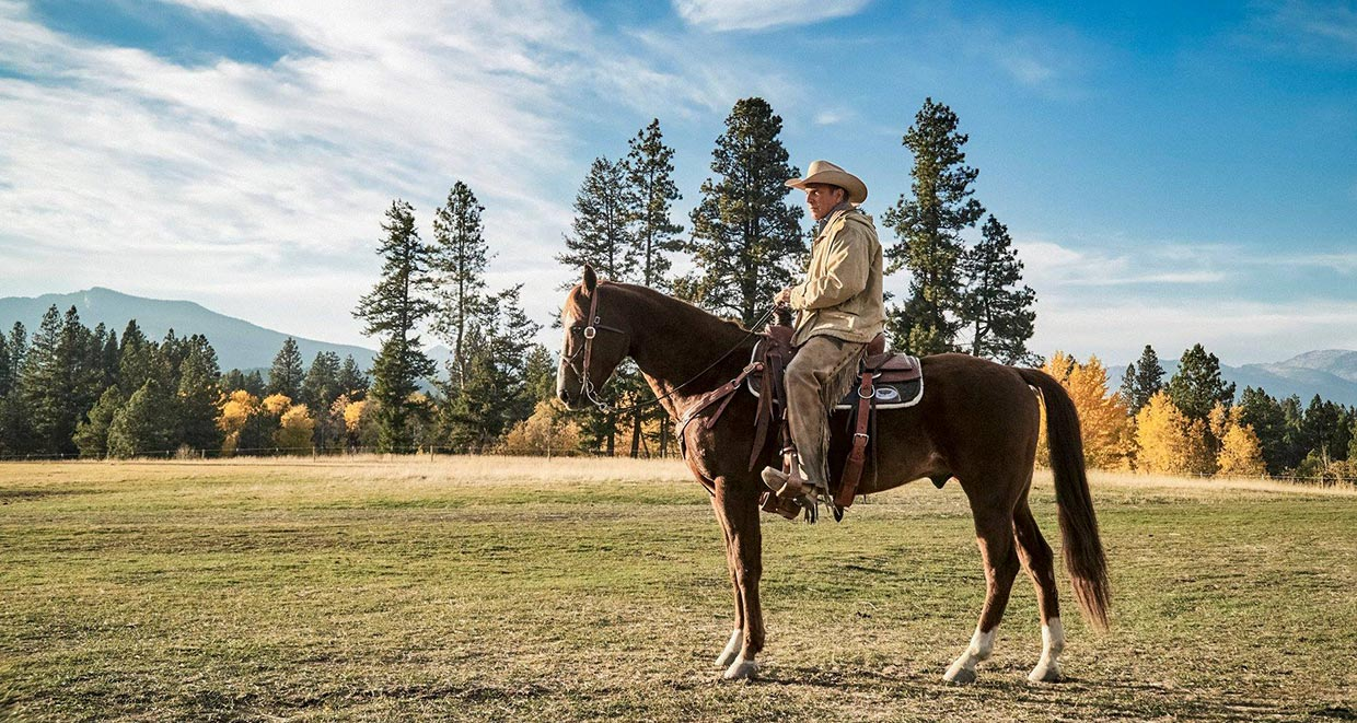 "Kevin Costner as John Dutton in ""Yellowstone"""