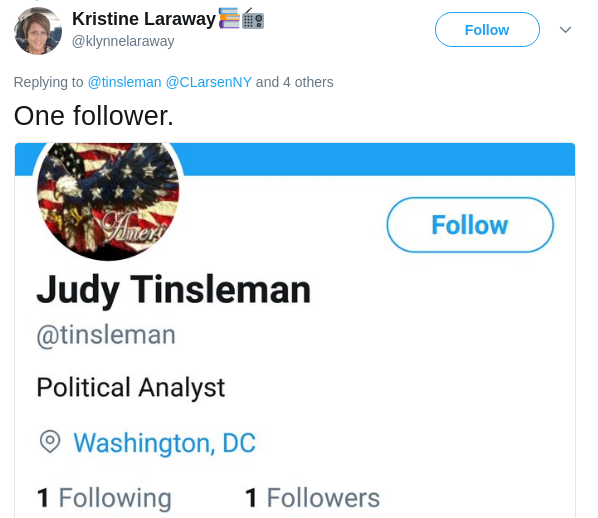 Kristine Laraway Tweet