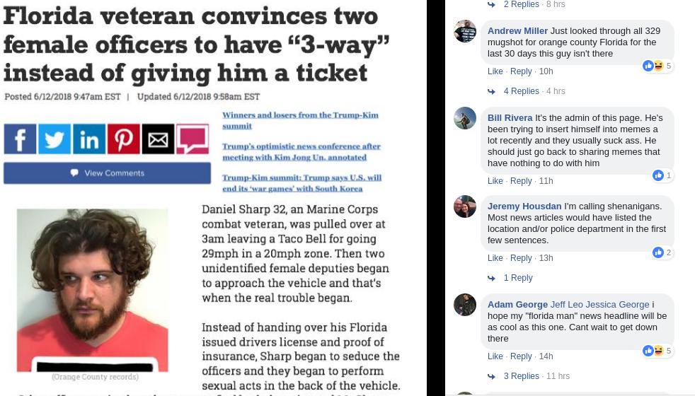 FACT CHECK: Florida Veteran Daniel Sharp Convinces Two Female