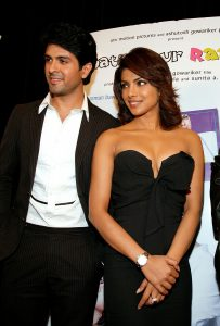 Harman Baweja and Priyanka Chopra