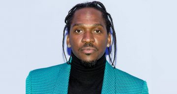 Pusha T at the Men's Runway Show at Park Avenue Armory
