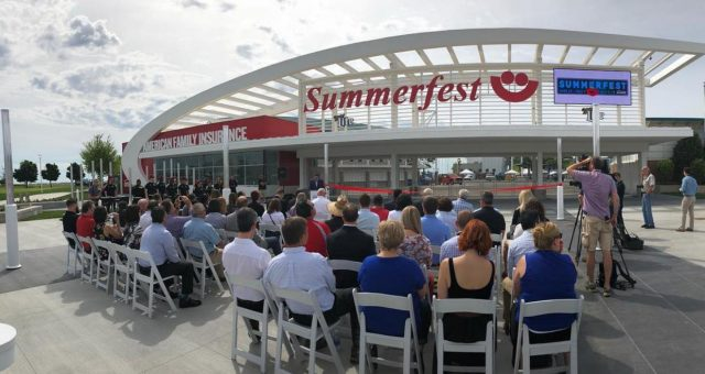 Re-opening of American Family North Gate Community Plaza