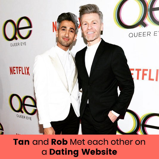 Rob and Tan on Dating Website