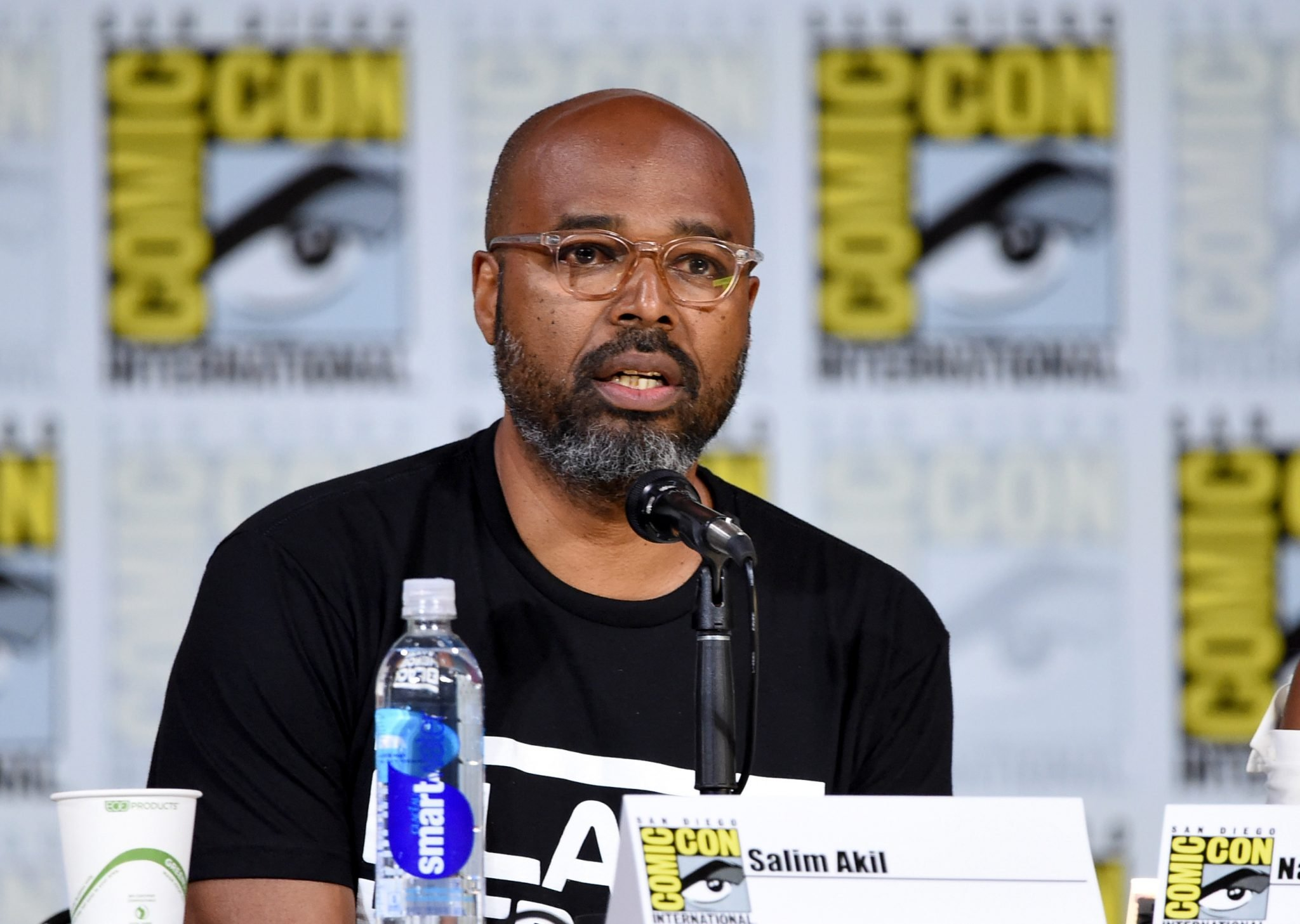 Salim Akil at the 2017 San Diego Comic Con