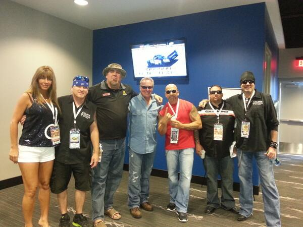 Scott Jones With Counting Cars' Cast Members