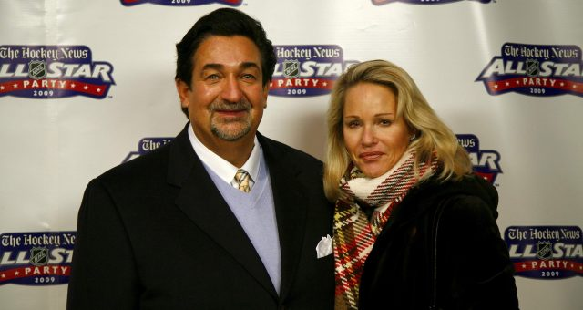 Ted Leonsis With His Wife Lynn Leonsis