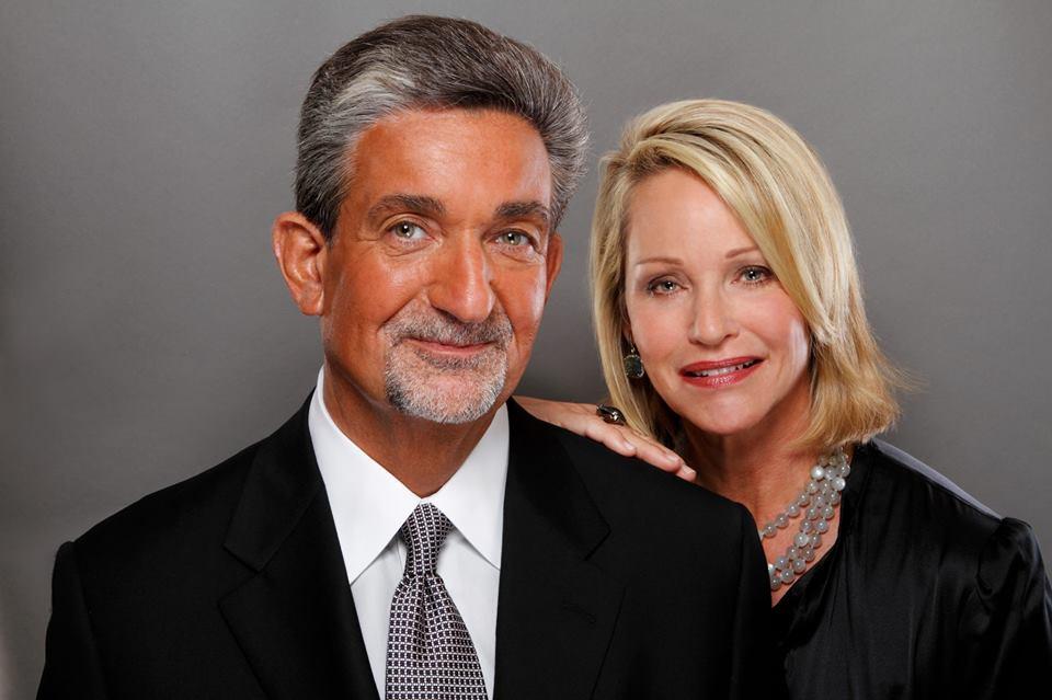 Ted Leonsis With Lynn Leonsis