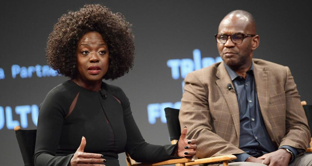 Viola Davis With Julius Tennon
