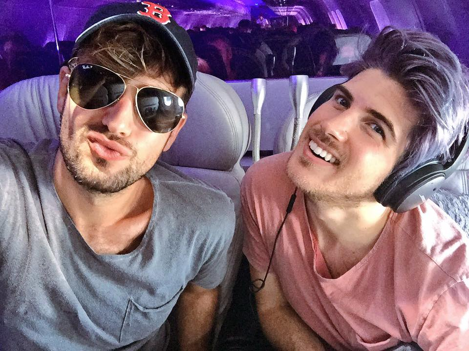 YouTube power couple, Joey Graceffa and Daniel Preda