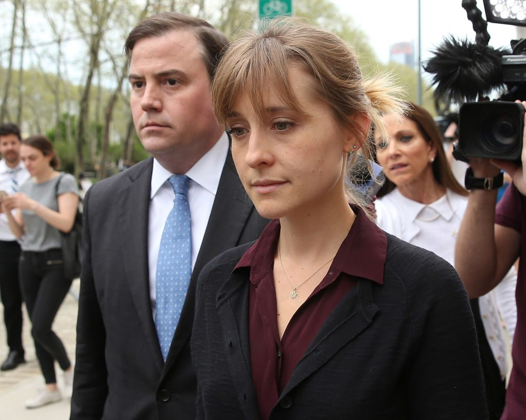 Allison Mack Sex Trafficking