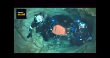 Cave Rescue Video Facebook