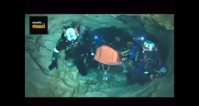 Cave Rescue Video Facebook