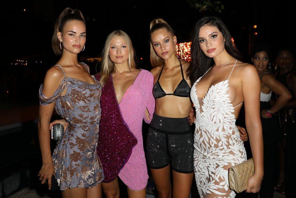 Chase Carter Attends 2018 Sports Illustrated Swimsuit show
