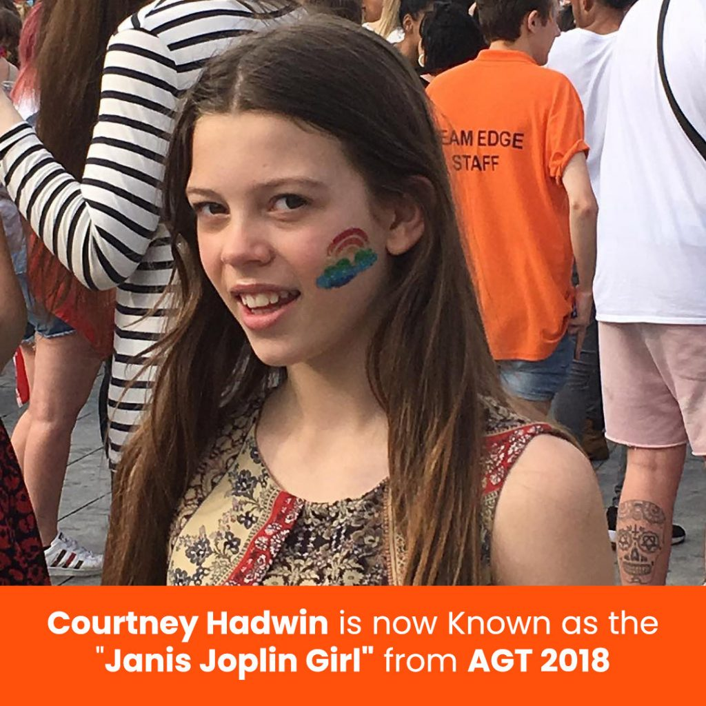 "Courtney Hadwin is now Known as the ""Janis Joplin Girl"" from AGT 2018"