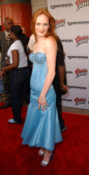 Daisy McCrackin at the Los Angeles Premiere of Halloween Resurrection, 2002