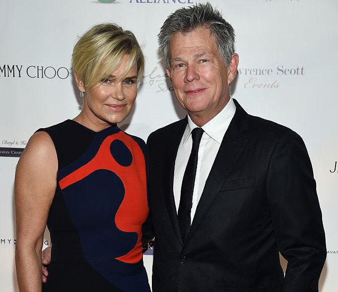 David Foster With Yolanda Hadid