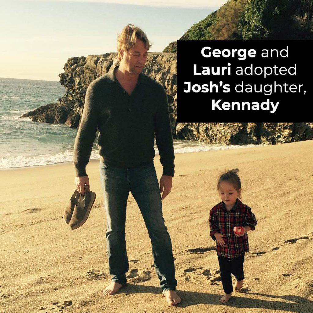George and Lauri adopted Josh's daughter, Kennady