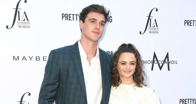 Jacob Elord and Joey King at The Annual Fashion Los Angeles Awards