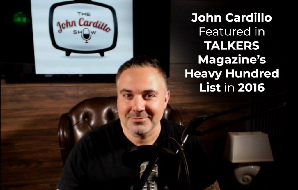 John Cardillo Talkers Magazine