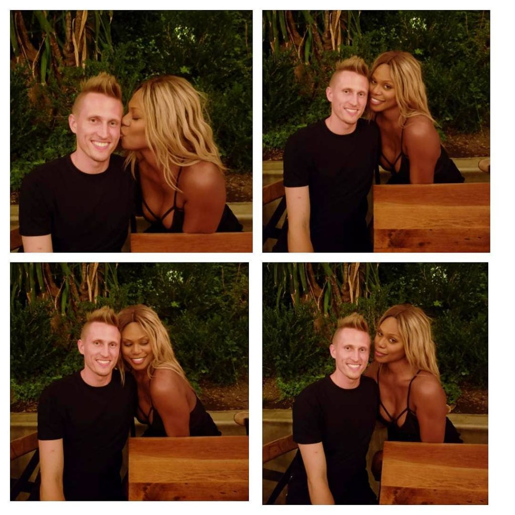 Laverne Cox Anniversary Post With Boyfriend