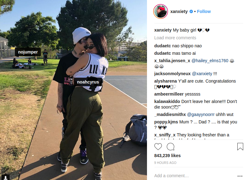Lil Xan Dating Noah
