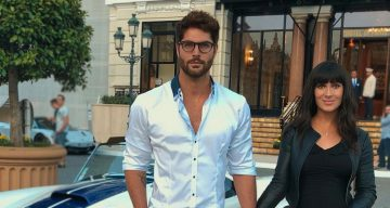 Amanda cerny and Nick bateman