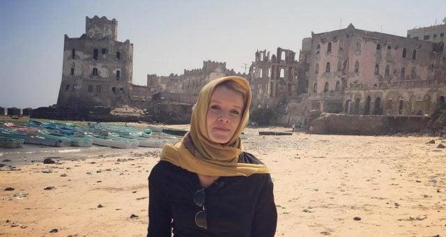 PBS Newshour correspondent, Jane Ferguson in Mogadishu City