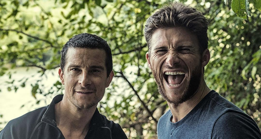 Scott Eastwood With Bear Grylls