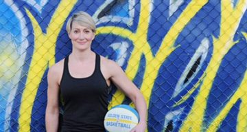 Sports physiotherapist, Chelsea Lane
