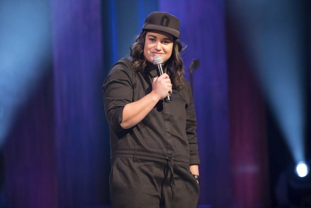 Stand-up comedienne, Sabrina Jalees