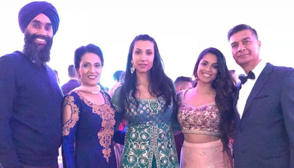 Tina Singh's Family