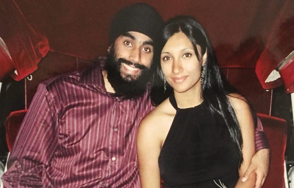Tina Singh With Her Husband