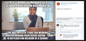 Virginia School Principal Mamasai Mamakusa Fact Check