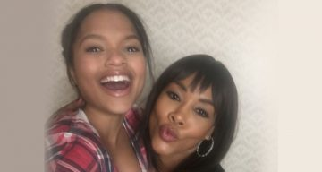Vivica A.Fox and Sidney Nicole Rogers from The Wrong Cruise