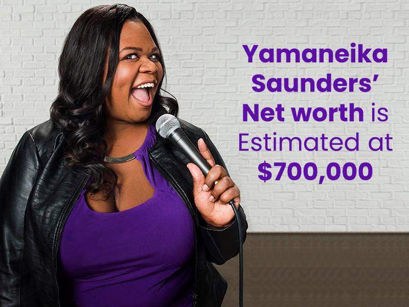Yamaneika Saunders' Net worth