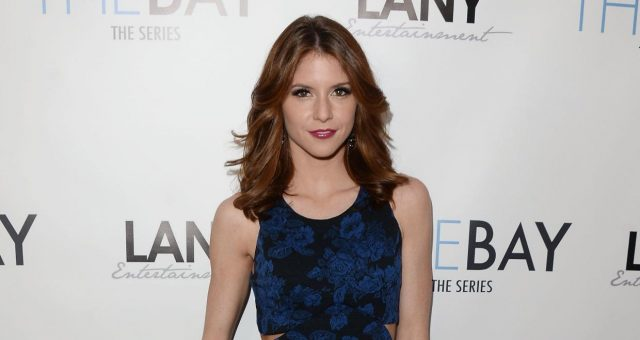 Actress Brittany Underwood arrives at the screening of LANY Entertainment's 'The Bay' at DOMA