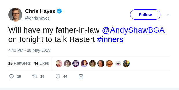 Andy Shaw on Chris Hayes Show