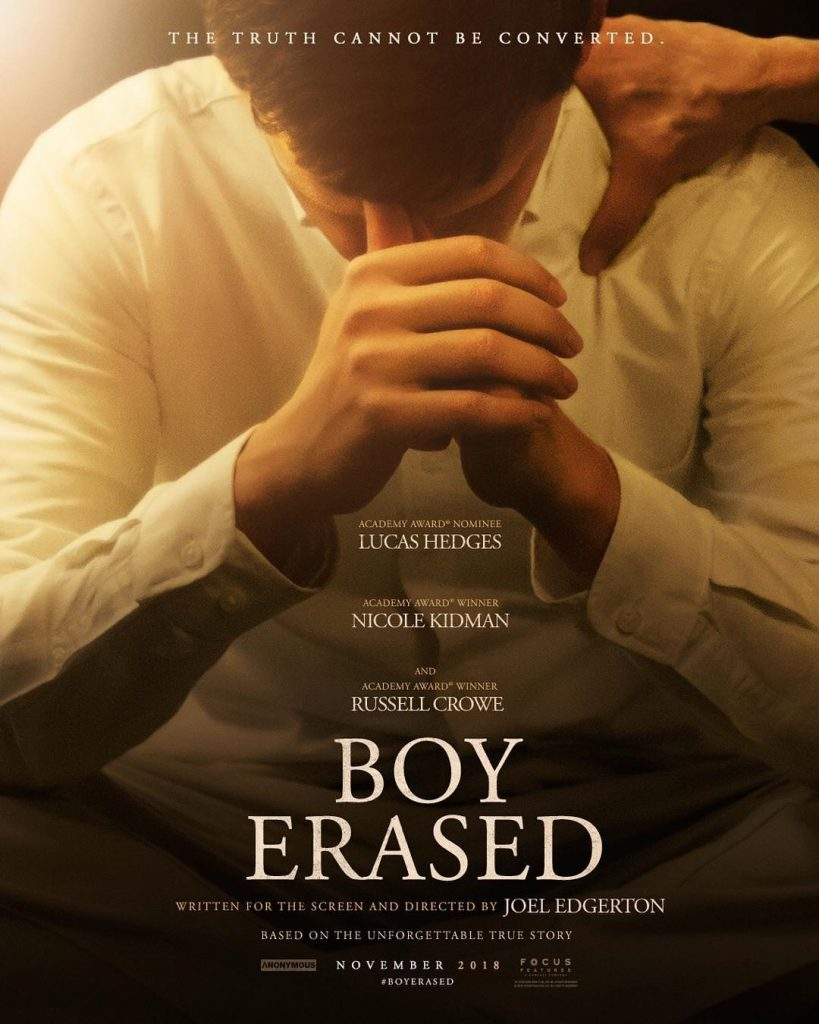 Poster of Boys Erased