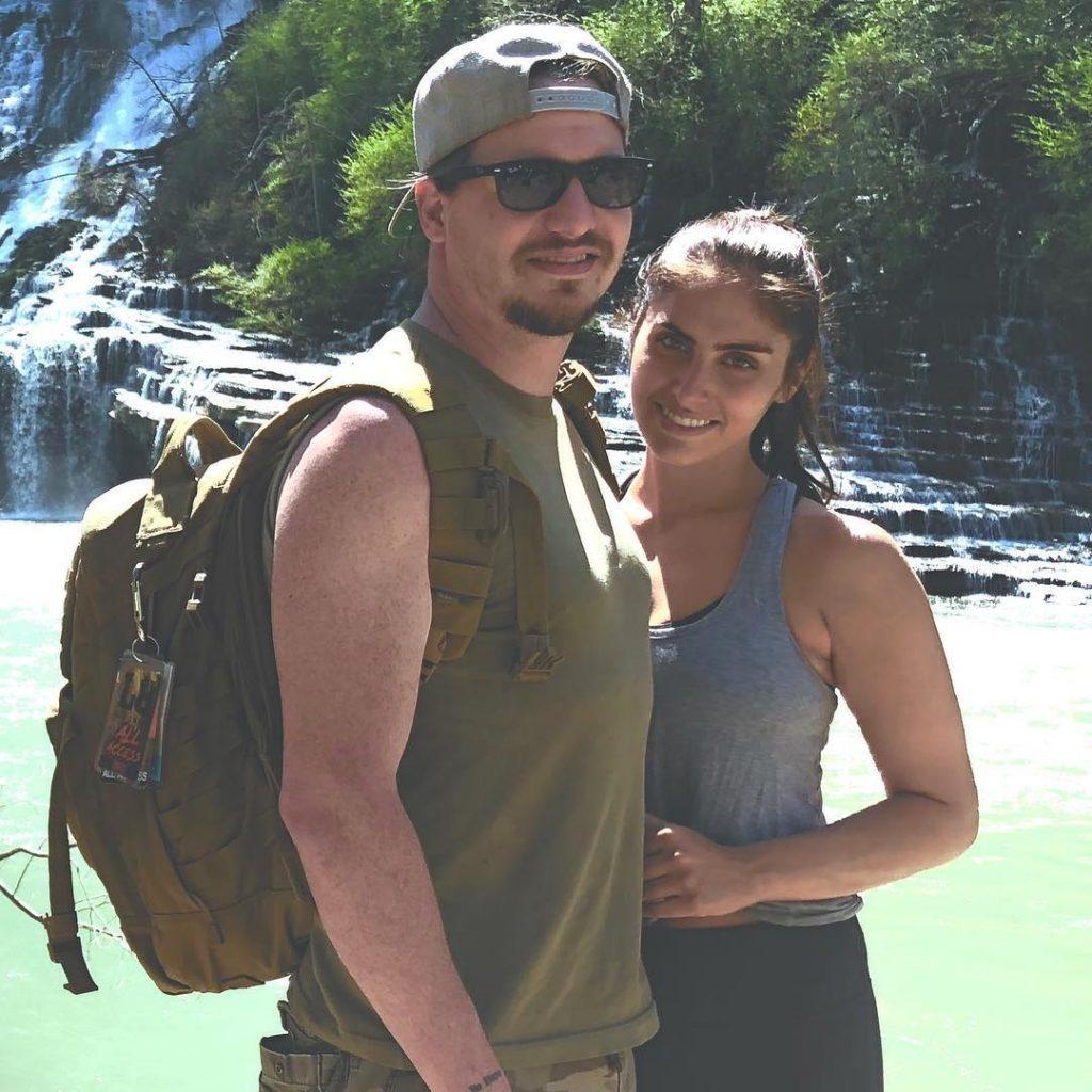 Brittainy Taylor with boyfriend, Jon Stone