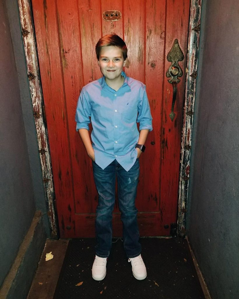 Child artist, Jet Jurgensmeyer from Babysitter's Nightmare