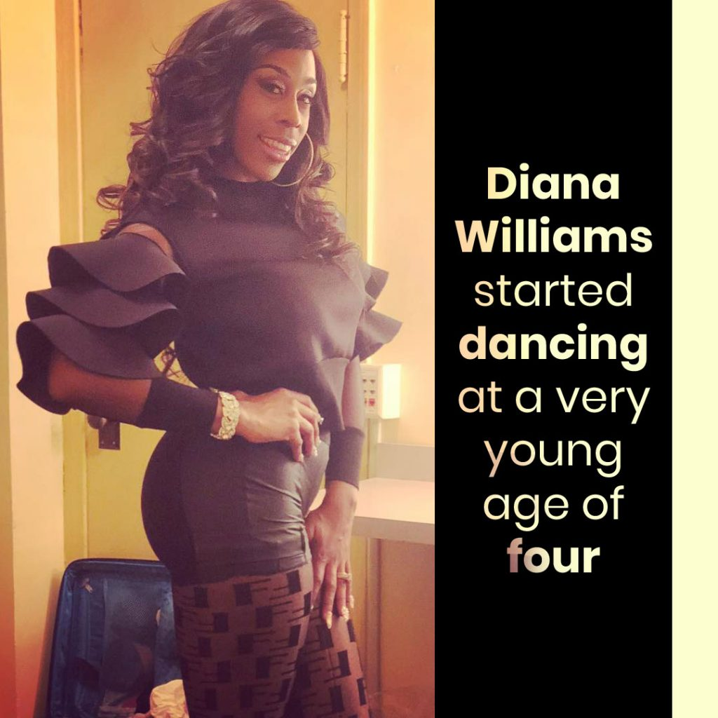 Diana Williams Dancing