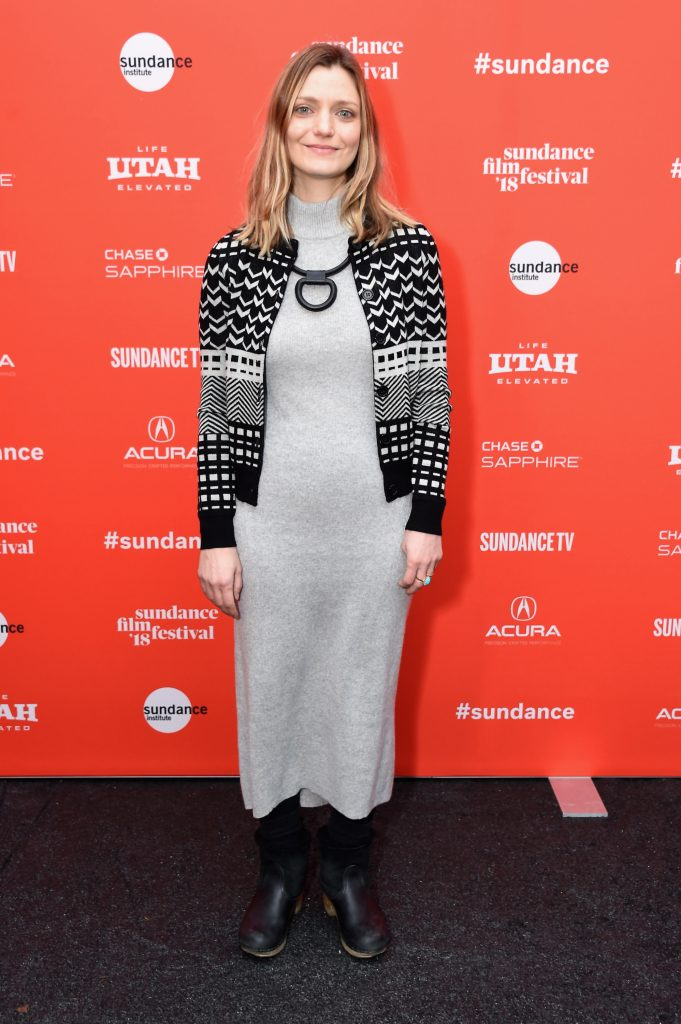 Director Sara Colangelo attends the 'The Kindergarten Teacher' Premiere during the 2018 Sundance Film Festival at Park City Library
